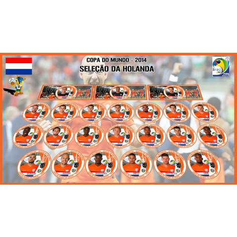 Holanda 2014 - 23 Jogadores