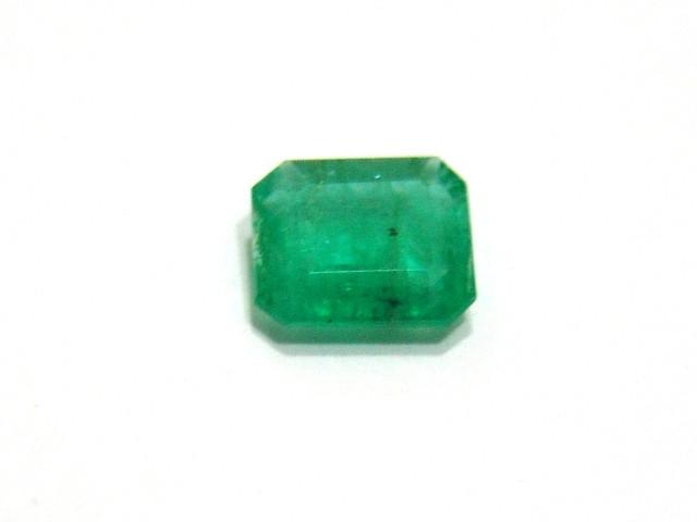 Esmeralda - Retangular Facetada 9x8 mm