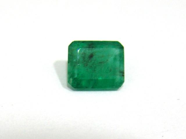 Esmeralda - Retangular Facetada 10x8.50 mm