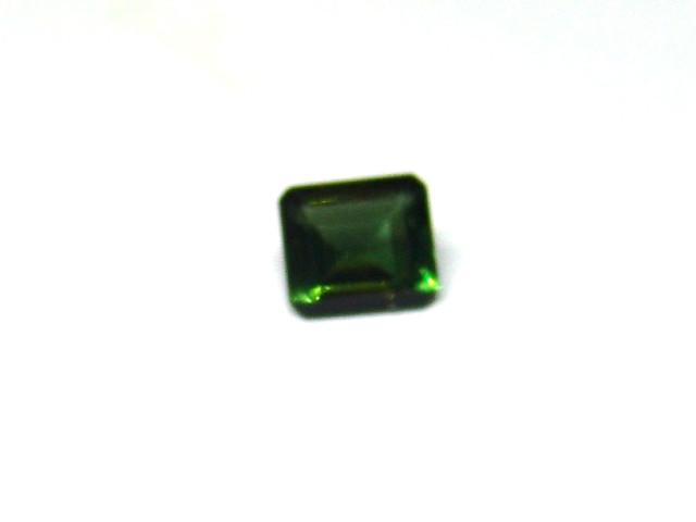 Turmalina Verde - Retangular Facetado 7x6 mm