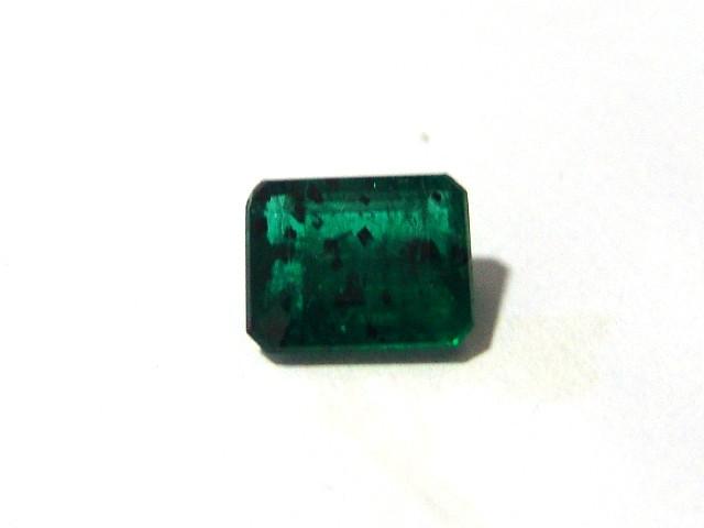 Esmeralda - Retangular Facetada 13x10 mm