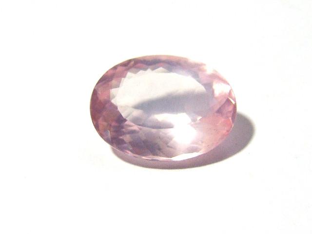 Quartzo Rosa Oval Facetada 20x15 mm