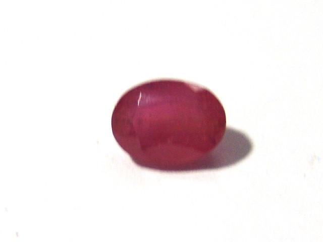 Rubi Facetado Oval 10x7.50 mm