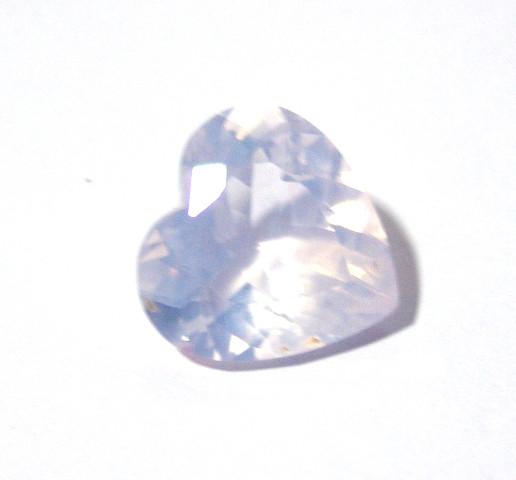 Ametista Lavender Moon Coração Facetado 18x18 mm