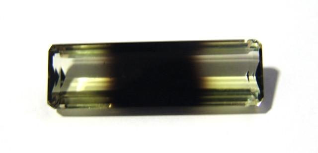 Green Gold Bicolor - Retangular Facetado 43x13.50 mm