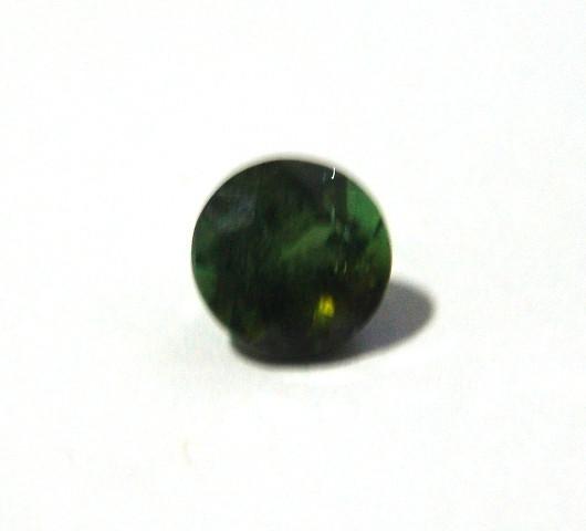 Turmalina Verde - Redonda Facetado 8 mm
