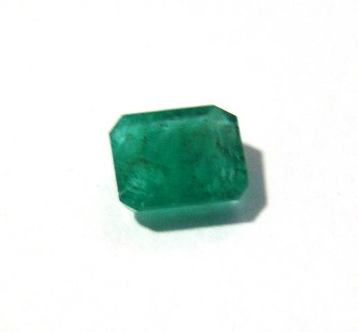 Esmeralda - Retangular Facetada 8.60x7.45 mm