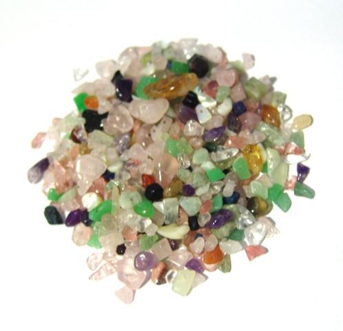 Lote de Pedras Mix com Furo Vasado
