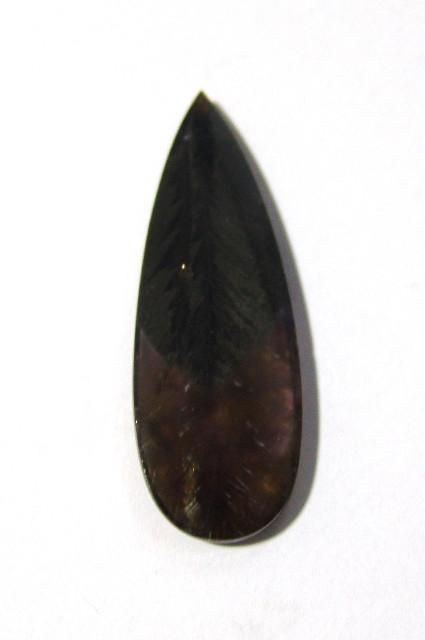 Ametista Cacoxenita  Gota 47x17 mm