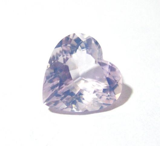 Ametista Lavender Moon Coração Facetado 21x21 mm