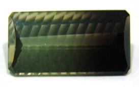Green Gold Bicolor  Retangular Lapidação especial 21x11 mm