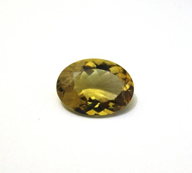 Green Gold - Oval Facetado 26x19mm