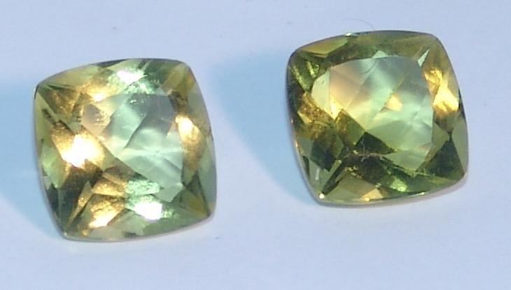Par Green Gold - Lapidação Antique Fantasia