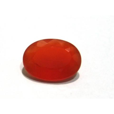 Cornalina - Oval Facetada 16X12 mm