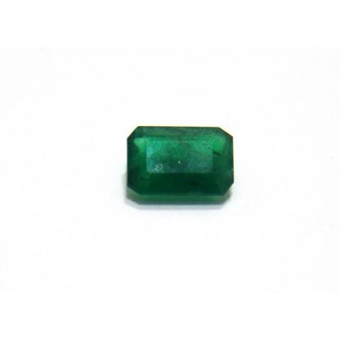 Esmeralda - Retangular Facetada 10x7 mm