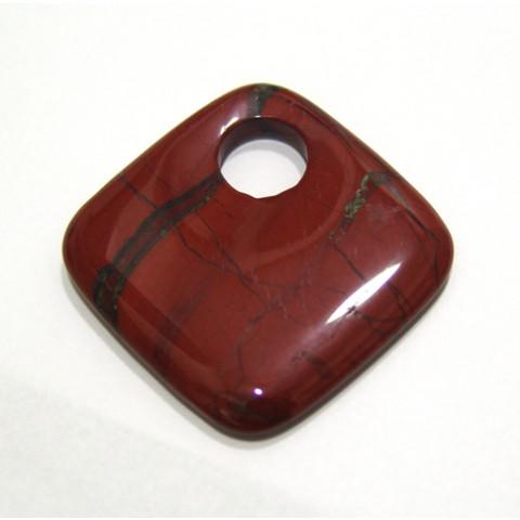 Jaspe Antique Cabochão 50 mm, Com Furo