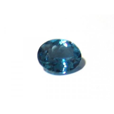 Topázio London Blue - Oval Facetado 11x9 mm