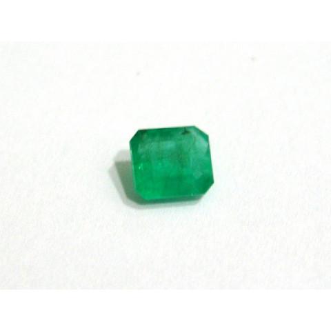 Esmeralda - Retangular Facetada 7.50x6.90 mm