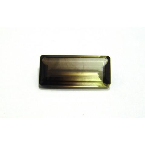 Green Gold Bicolor - Retangular Facetado 22.50x10.40 mm
