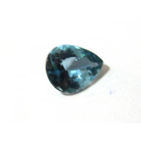 Topázio London Blue -Gota Facetado 15x12 mm