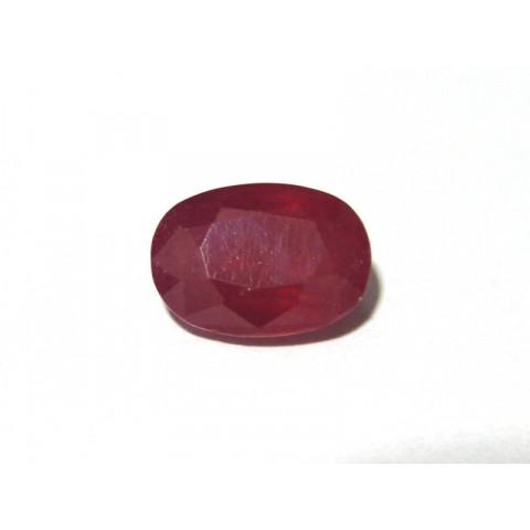 Rubi Facetado Oval 10x14 mm