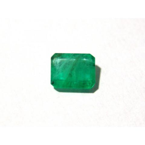 Esmeralda - Retangular Facetada 10.5x8.5mm