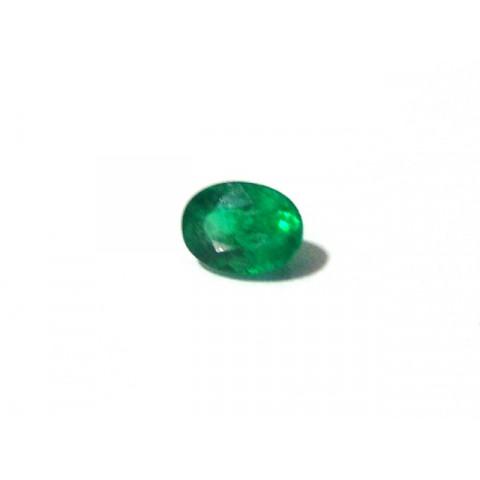 Esmeralda - Oval Facetada 7x5 mm