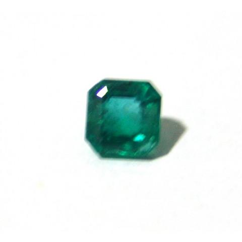 Esmeralda - Retangular Facetada 6.60x6.80 mm
