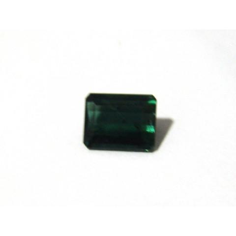 Turmalina Verde - Retangular Facetado 11x9 mm
