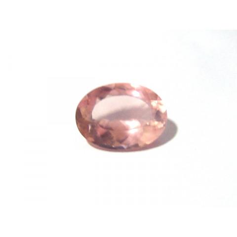 Quartzo Rosa Oval Facetada 16x12 mm