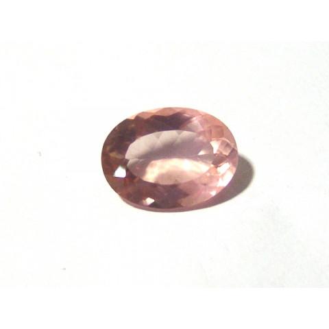 Quartzo Rosa Oval Facetada  22x16 mm