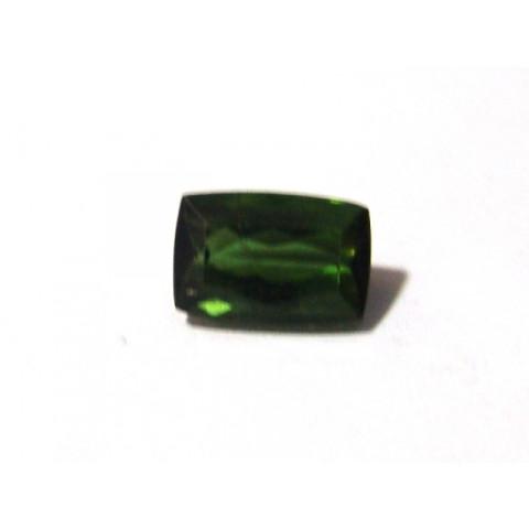 Turmalina Verde - Retangular Facetada 14x9 mm