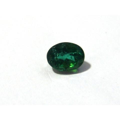 Turmalina Verde - Oval Facetado 8x6 mm