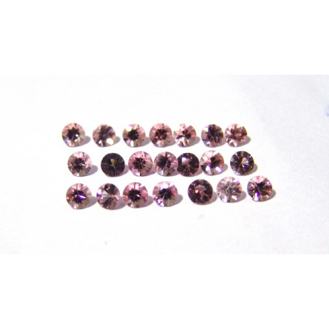 Morganita - Redonda Facetada 4 mm
