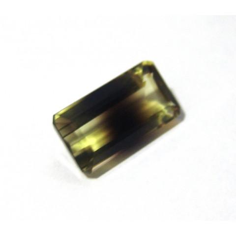 Green Gold Bicolor - Retangular Facetado 24x12.50 mm