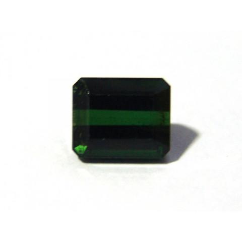 Turmalina Verde - Retangular Facetado 10x8.50 mm