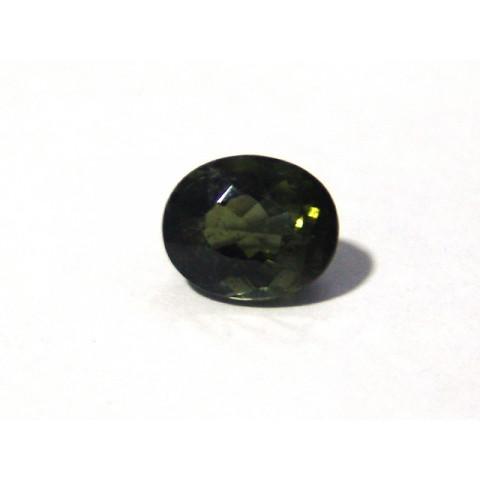 Turmalina Verde - Oval Facetado 11x9 mm