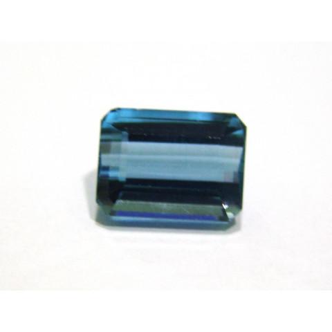 Topázio Azul London - Retangular Facetado 15x11 mm