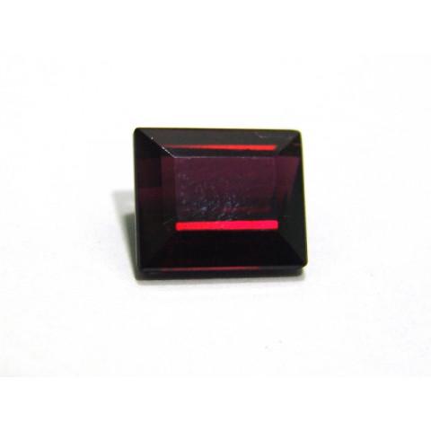 Rodolita - Retangular Facetado 11x9.60 mm
