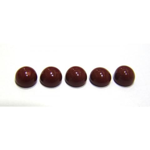 Jaspe Vermelho - Redondo Cabochão 8 mm