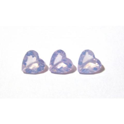 Ametista Lavender Moon Coração Facetado 10x10 mm