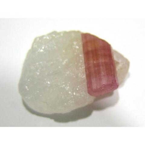 Peça de Turmalina Rosa Natural 33X28 mm