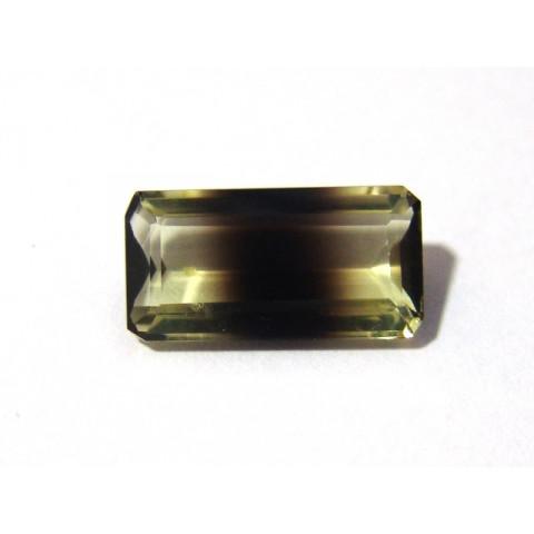 Green Gold Bicolor - Retangular Facetado 20x10 mm