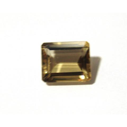 Citrino - Retangular Facetada 13.60x11 mm