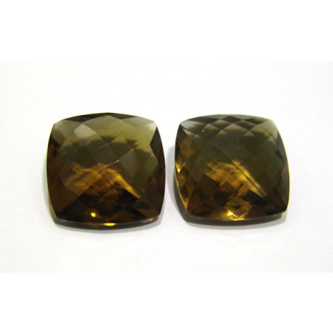 Green Gold Conhaque  Antique Briolet 20 mm