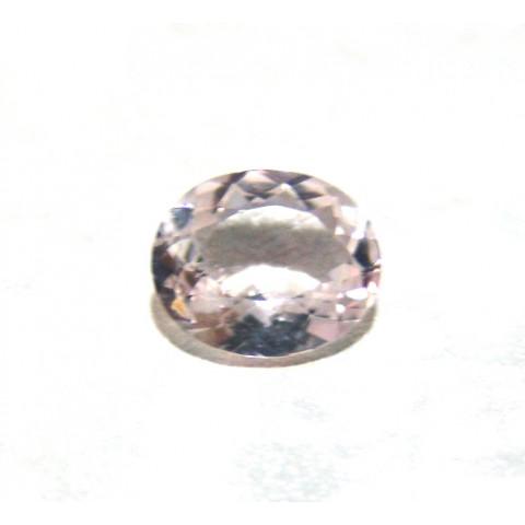 Kunzita - Oval Facetada 11x9 mm