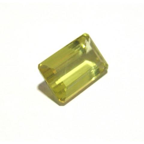 Green Gold  - Retangular Facetado 22x13.50 mm