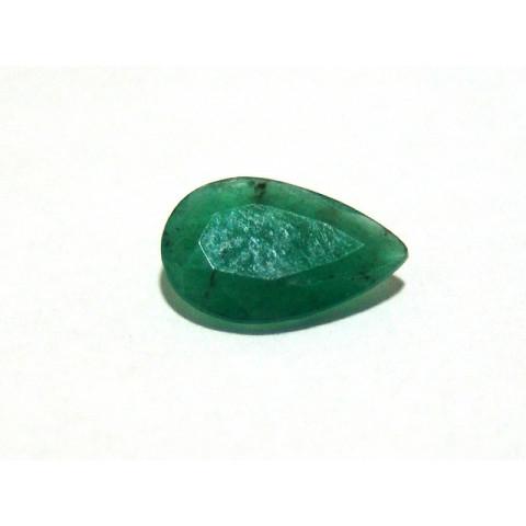 Esmeralda - Gota Facetada 15x10 mm