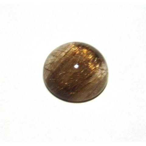 Quartzo Rutilado Redondo Cabochão 18 mm