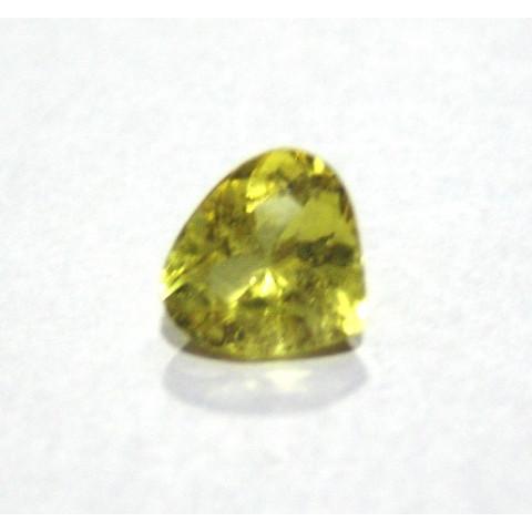 Berilo - Gota Coração Facetada 11.50X12 mm